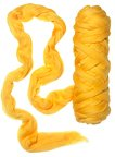 """Indian yellow"" Merino 19µ"