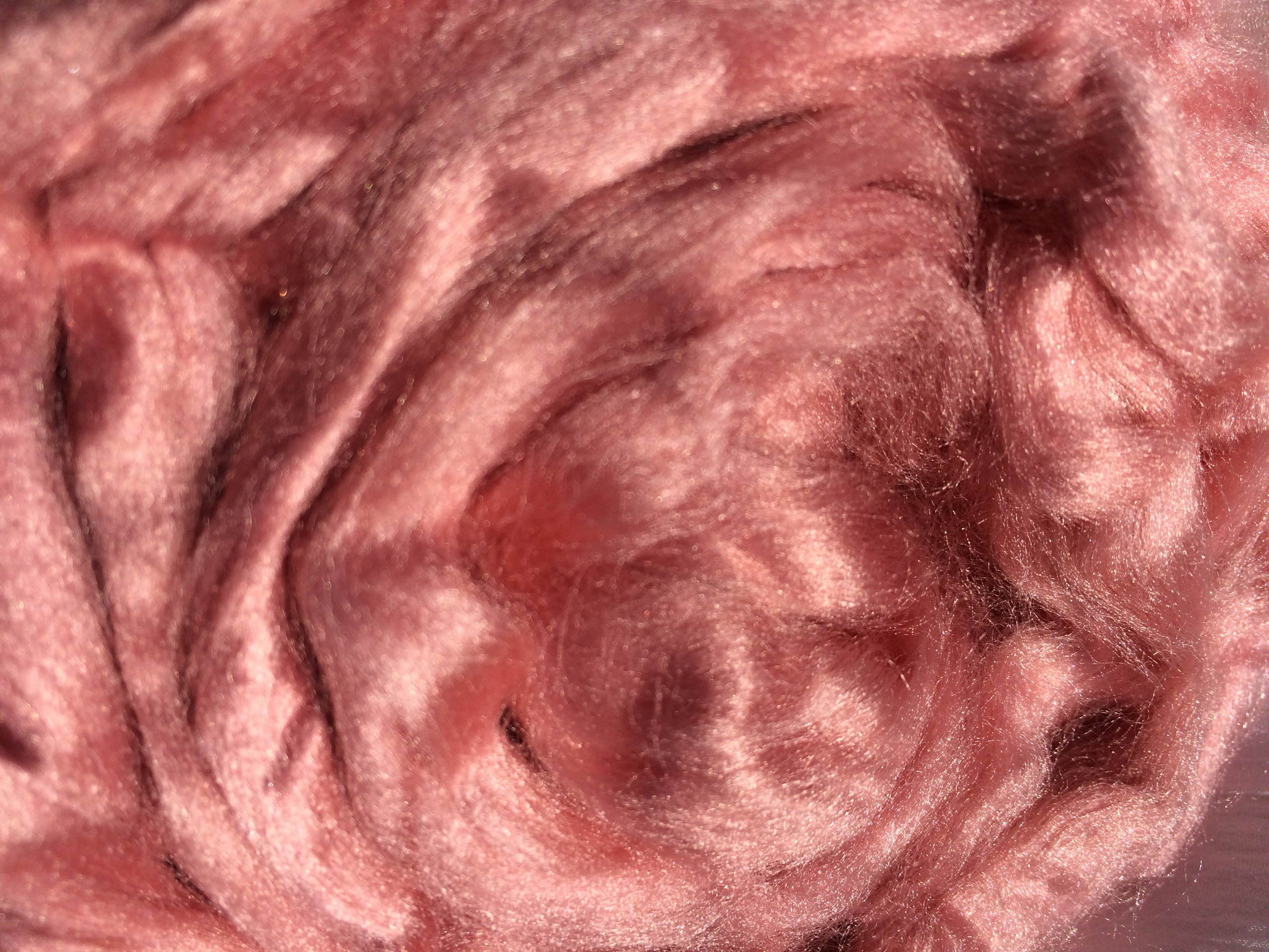 viscose fiber top dyed