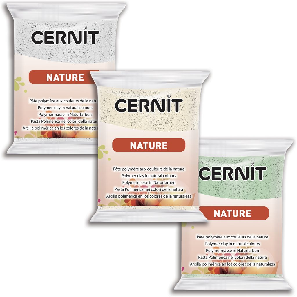 Cernit is a polymer clay used for modeling.