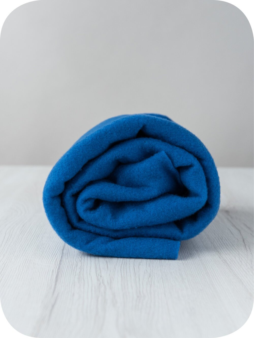Pre-felt thin wool fabric